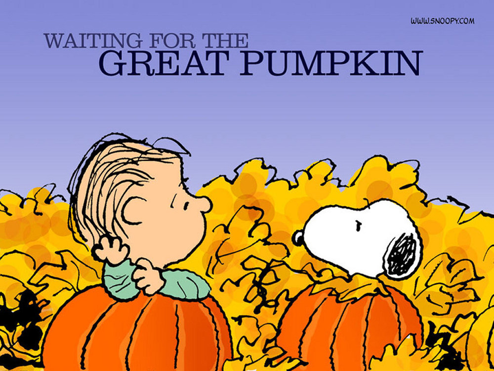 Snoopywaitingforthegreatpumpkinscal